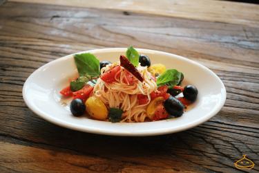 冷製トマトパスタ