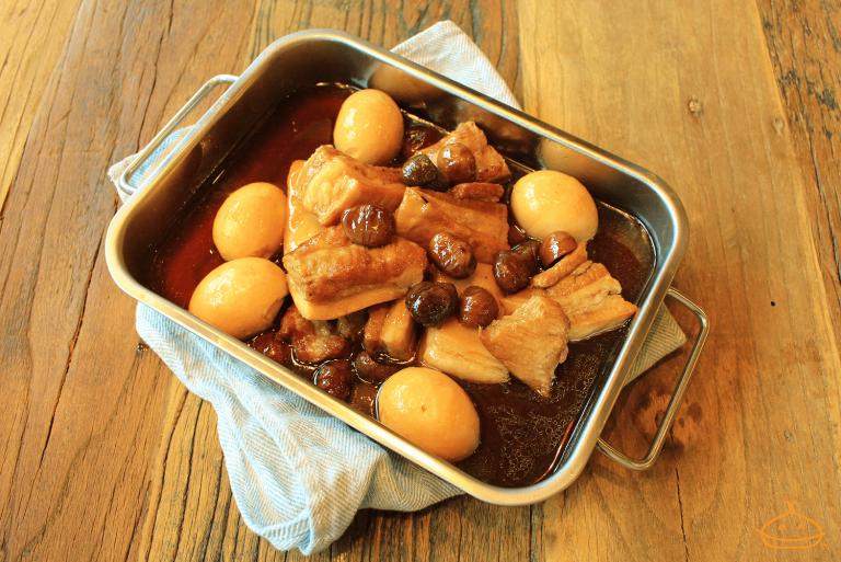 豚の角煮&煮卵