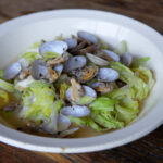 steamed-springcabbage-and-clams-recipe